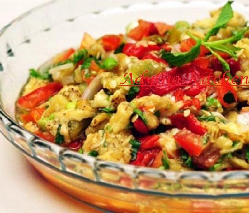 Salata turceasca de vinete reteta