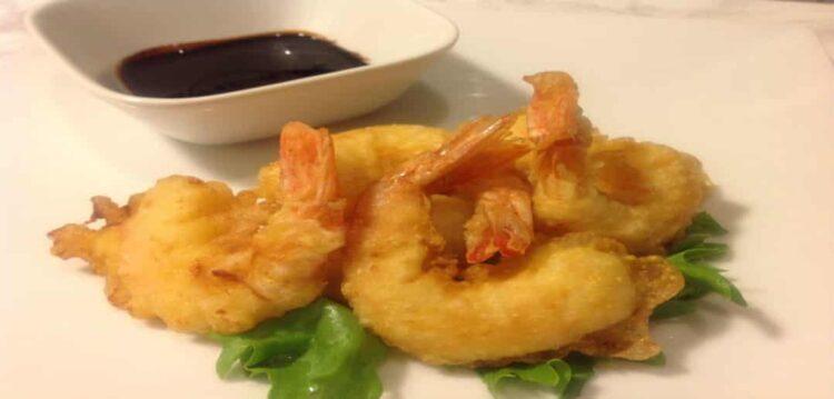 Creveti tempura reteta video