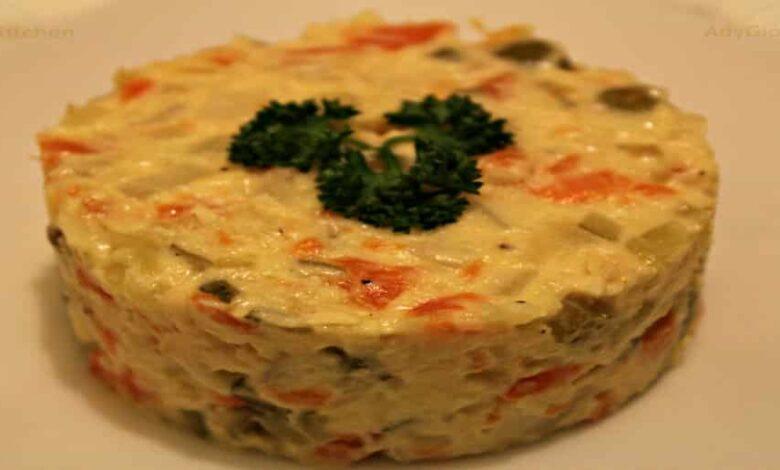 Salata de boeuf reteta video