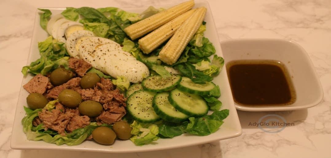 Salata nicoise reteta video