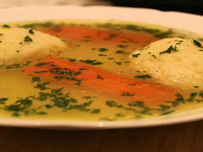 Supa de pui cu galuste de gris reteta video