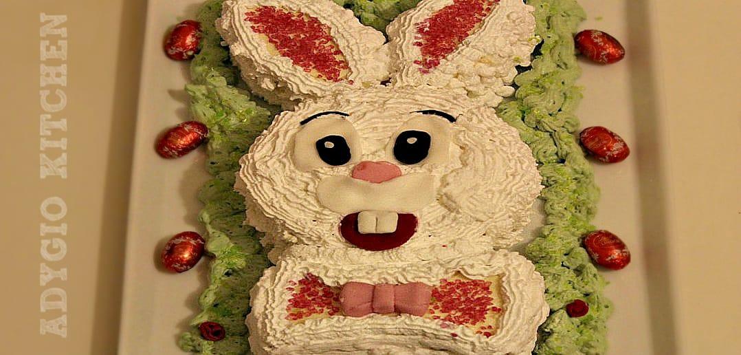 Tort iepuras sau tort in forma de iepuras