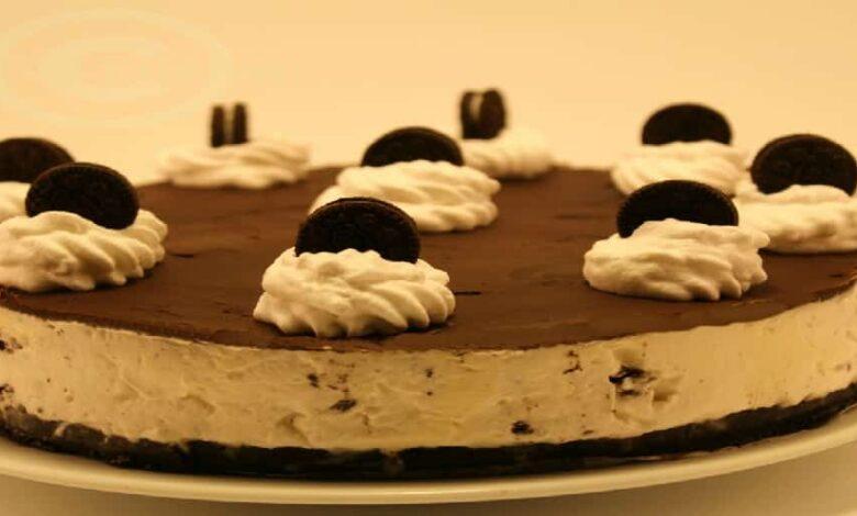cheesecake cu Oreo fara coacere