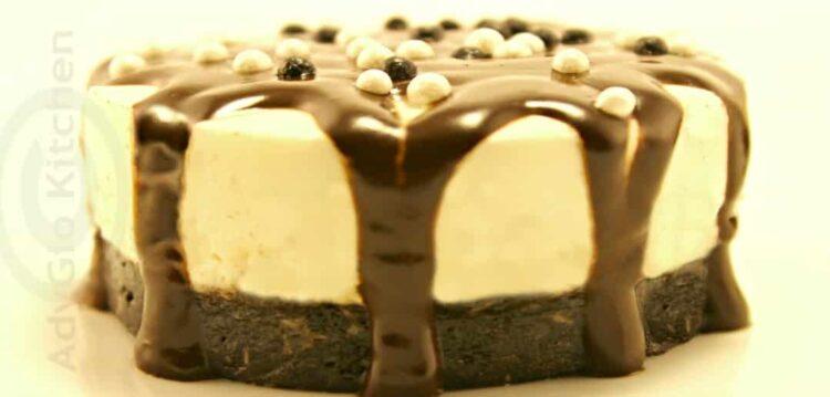 mini cheesecake cu cocos