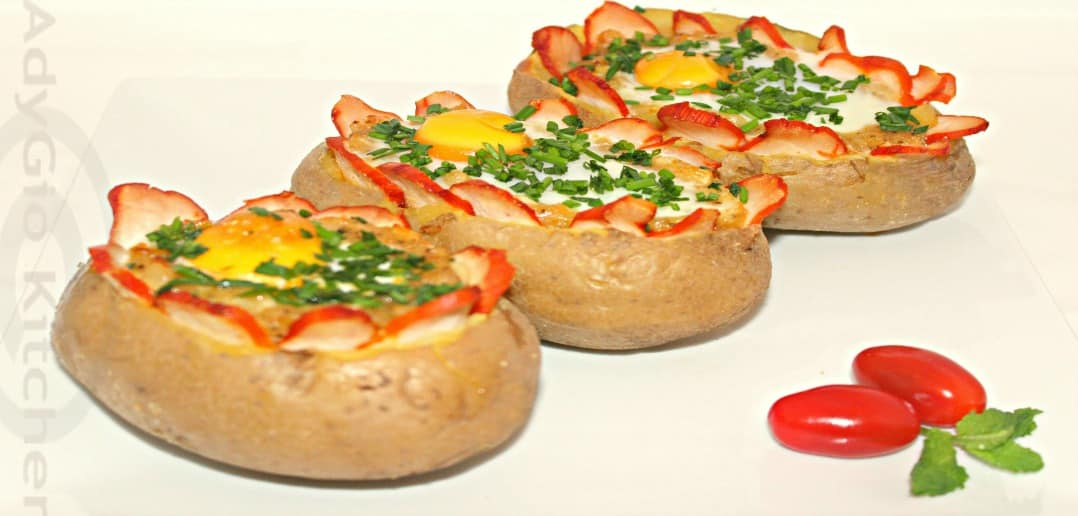 Cartofi umpluti la cuptor reteta video