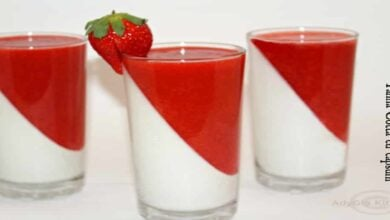 Photo of Panna cotta cu capsuni la pahar