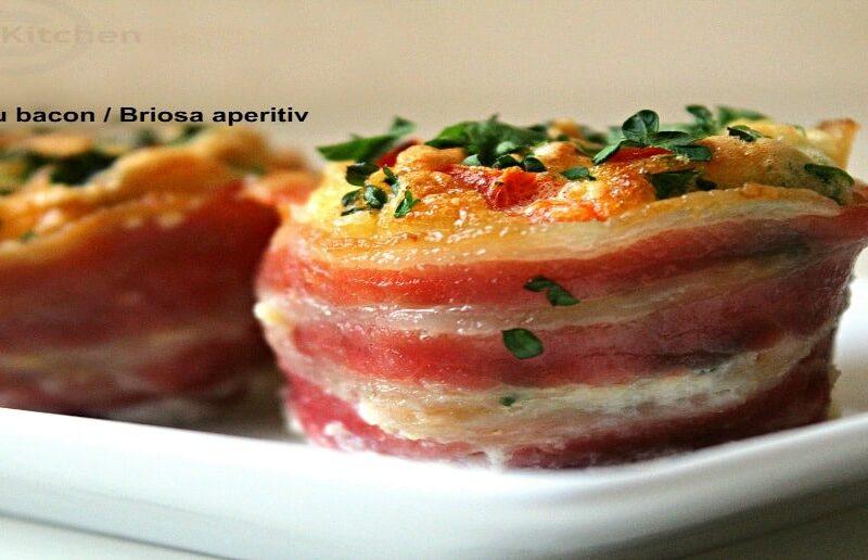 cosulete cu bacon briosa aperitiv