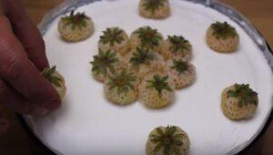 Cheesecake fara coacere ornare capsuni