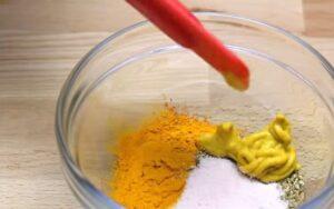 friptura de pui la cuptor condimente