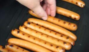 hot dog la cuptor crenvursti
