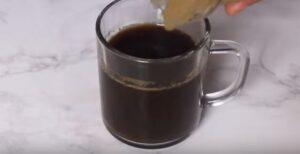 panna cotta cu cafea pregatirea cafelei