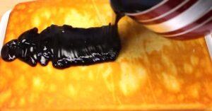 prajitura de afine budinca calda