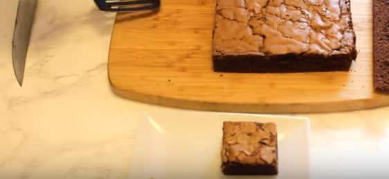 prajitura negresa cu nutella felii