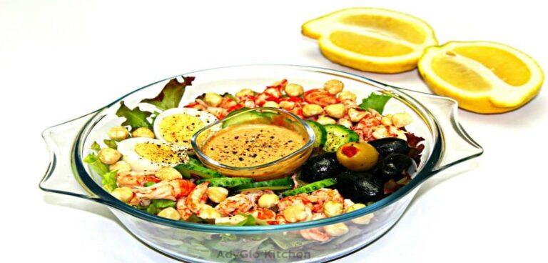 Salata cu crayfish reteta video