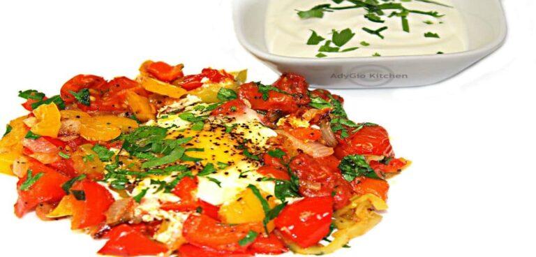 Menemen sau omleta turceasca reteta video