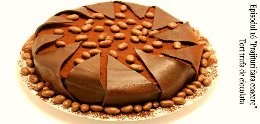 tort trufa de ciocolata youtube