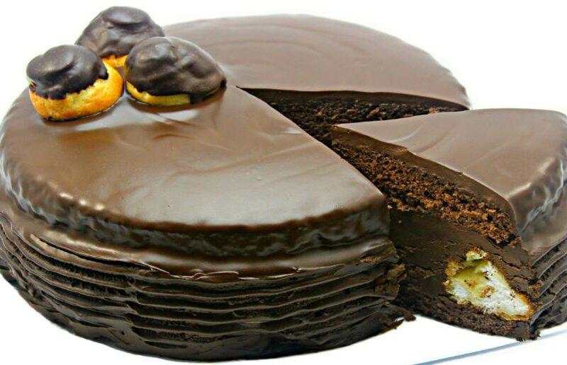 Tort Profiterol cu ciocolata adygio kitchen