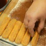 prajitura tiramisu strat 2