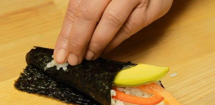 Sushi temaki coif
