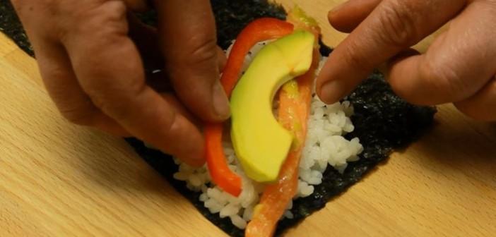 sushi temaki umplutura