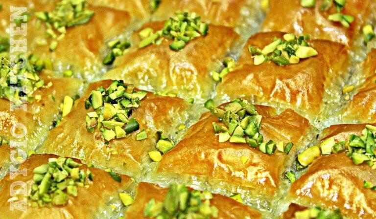 Baclava turceasca sau baklava reteta video