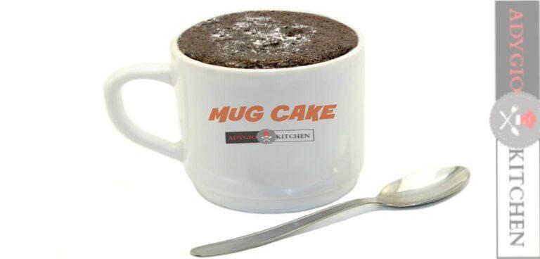Prajitura la cana Mug cake reteta video