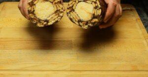 salam de biscuiti pentru a fi servit