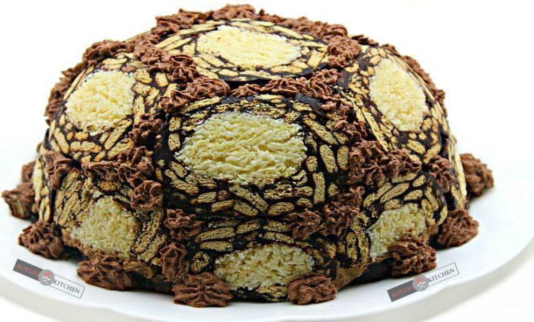 Tort de biscuiti cu mousse de ciocolata adygio kitchen