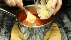 prajitura mirinda adaugare gelatina