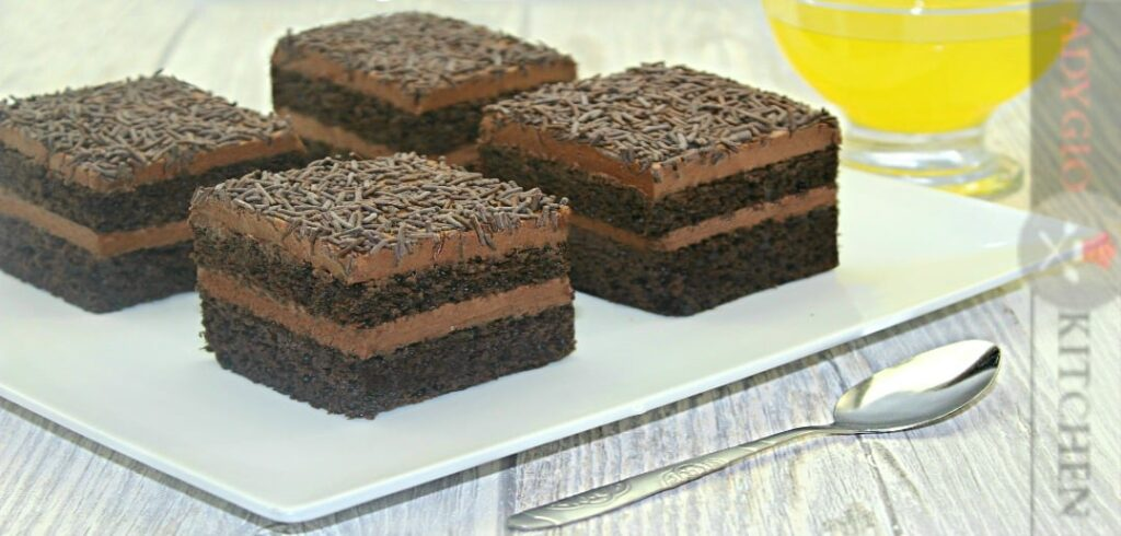 Prajitura Brigadeiro cu ciocolata adygio kitchen