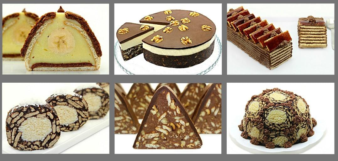 Retete de prajituri cu biscuiti