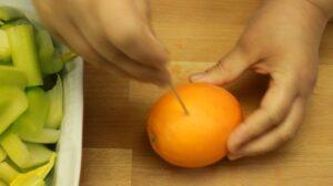 curcan la cuptor portocala