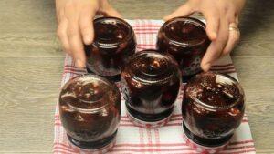 dulceata de capsuni intoarse