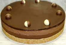 Cheesecake cu ciocolata si nutella reteta fara coacere .O reteta de cheesecake fara coacere