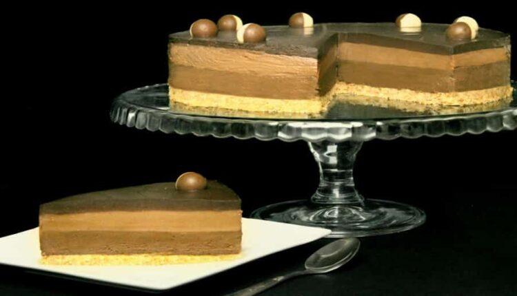 cheesecake cu ciocolata si nutella fara coacere