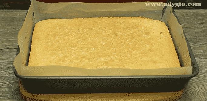 prajitura de vis cu nuca si ciocolata blat cu nuca