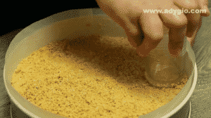 cheesecake cu ciocolata si nutella fara coacere strat de biscuiti