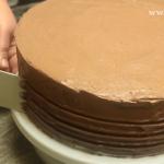 Tort fara coacere cu biscuiti decor pe margine