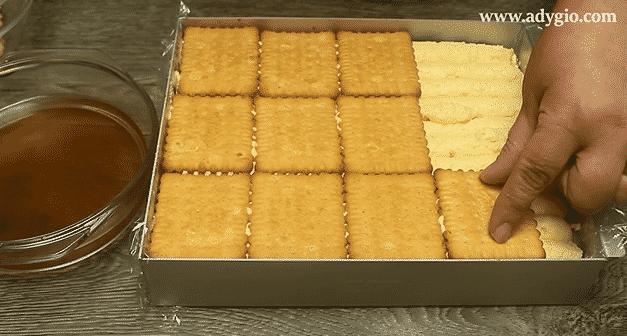 prajitura simpla fara coacere biscuiti