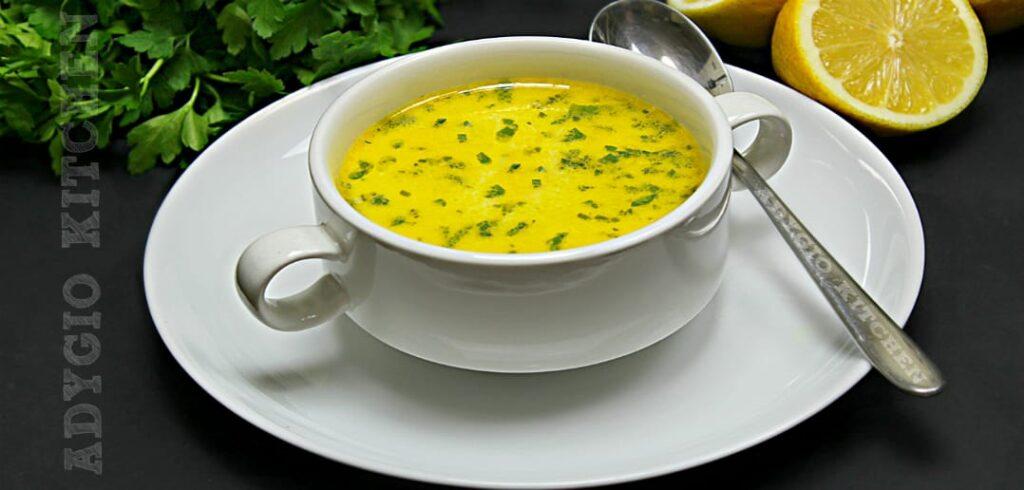 Ciorba de pui a la grec adygio kitchen