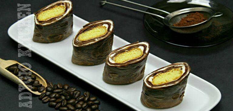 Clatite Tiramisu cu mascarpone si cacao reteta video