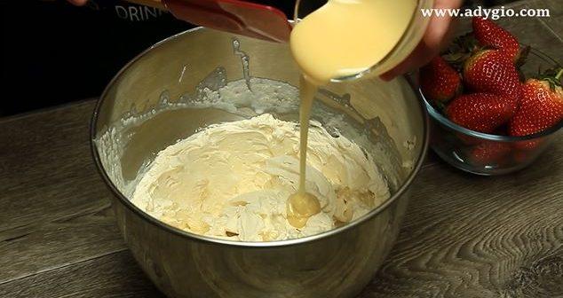 clatite diplomat crema cu lapte condensat