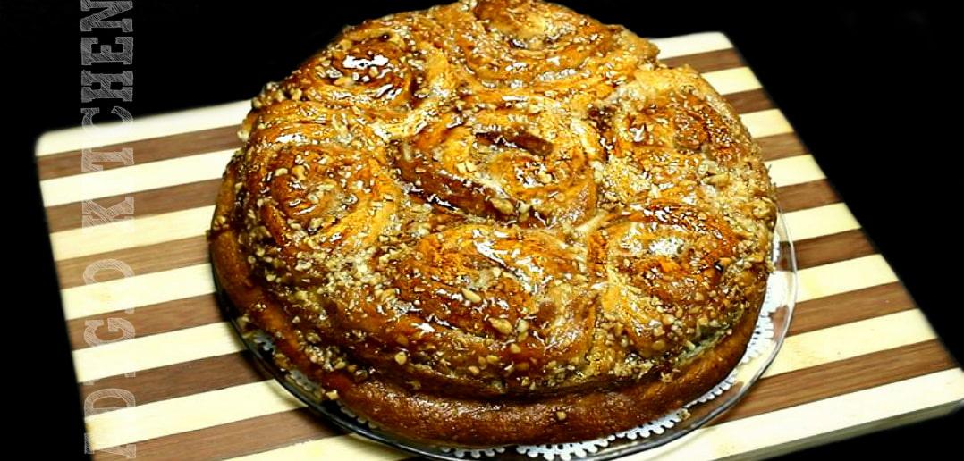 Cozonac Rosenkrantz cu nuca caramel adygio kitchen