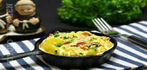 Cartofi carbonara adygio kitchen