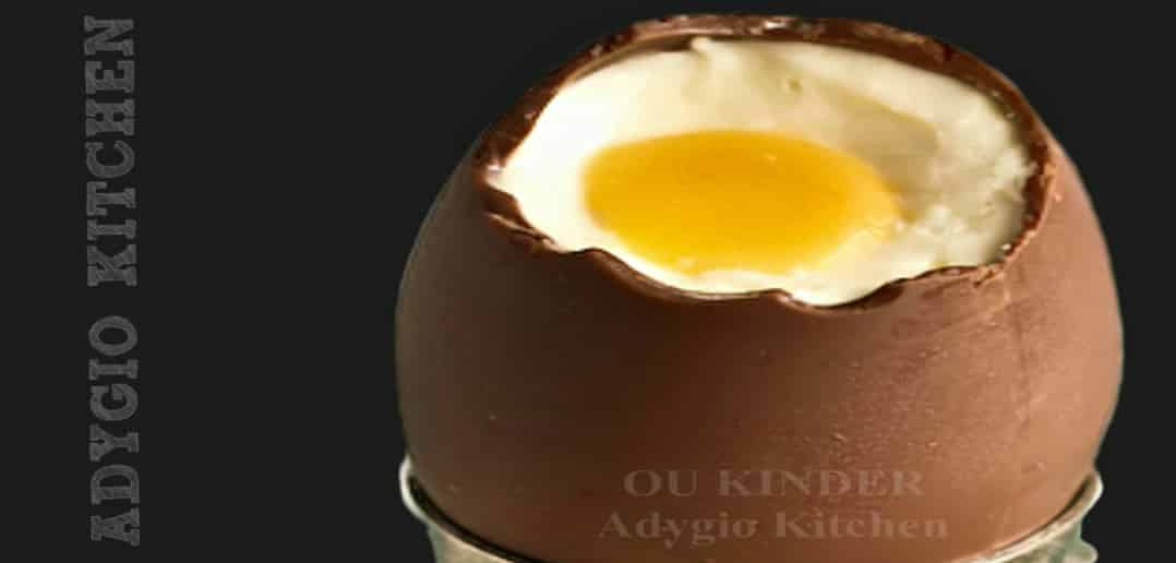 Oua kinder cu mascarpone si piersici adygio kitchen