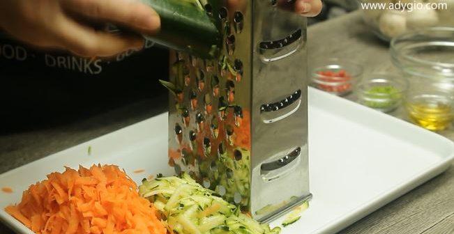 chiftelute de post aromate cu tarhon legume rase