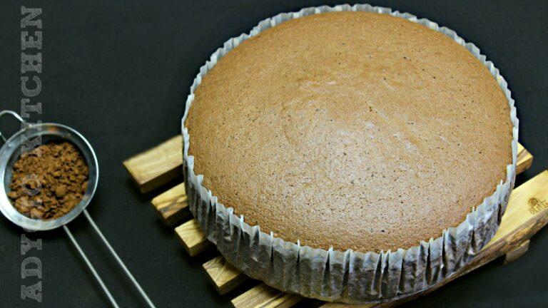 Blat de tort cu cacao reteta video