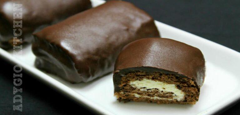 Mini rulade cu ciocolata reteta video