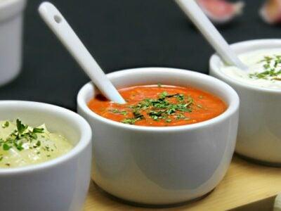 Mujdei de usturoi in 3 variante adygio kitchen