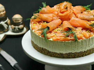 Tort aperitiv cu somon adygio kitchen